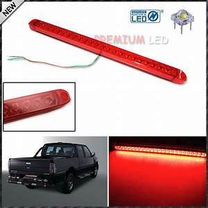 18 U0026quot  Trunk Tailgate Red Led Light Bar For Tail Brake Light