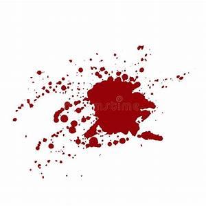 Tache De Couleur Peinture Fond Blanc : taches de sang d 39 isolement sur le fond blanc illustration de vecteur illustration du peinture ~ Melissatoandfro.com Idées de Décoration