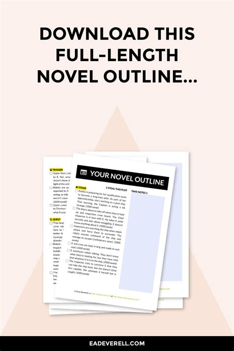 outline creative writing blog