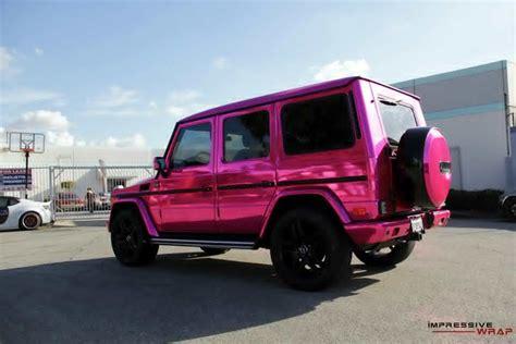 pink mercedes truck pink mercedes g class 5 benzinsider com a mercedes
