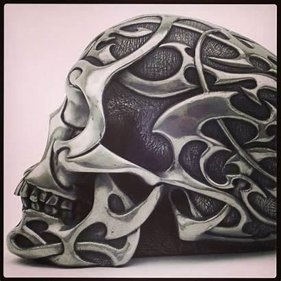 Skull Helmet Motorcycle Helmets Cool Tattoo Bike
