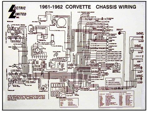C3 Corvette Electrical Wiring by 1961 1962 Corvette Diagram Electrical Wiring