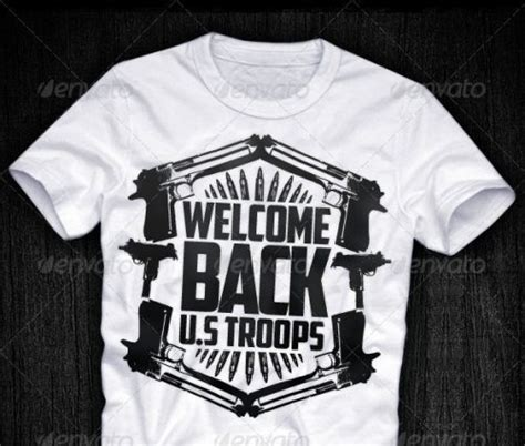 black white  shirt design templates eps psd