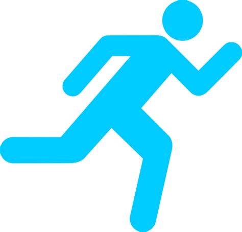 Clipart Running Running Icon On Transparent Background Clip At Clker