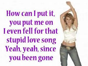 Kelly Clarkson Since U Been Gone LYRICS YouTube