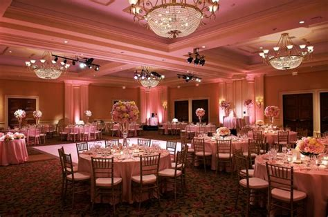 coral colored wedding centerpieces uplighting suggestions