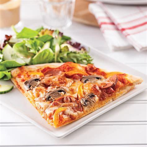 recettes cuisine minceur pizza minceur toute garnie recettes cuisine et
