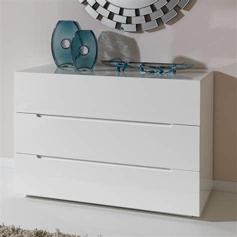 commode chambre design commode design laquee blanche 3 tiroirs urbano zd1 comod a