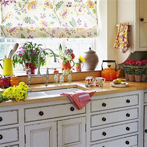 Country Kitchen Sunshine Blind  Country Kitchen Design