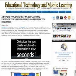 Presentaciones - Aplicaciones y herramientas | Pearltrees