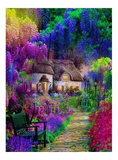 Nature Pretty Beauty Garden Background Scenery Gifs