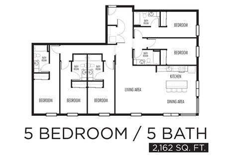 5 bedroom floor plans 5 bedroom apartment floor plans bestapartment 2018 13971