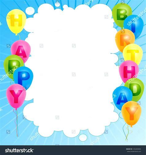 happy birthday template word template happy birthday card template word