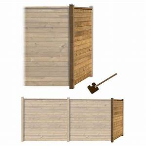 Sonnensegel Pfosten Holz : sichtschutz garten zaun holz braun ~ Michelbontemps.com Haus und Dekorationen