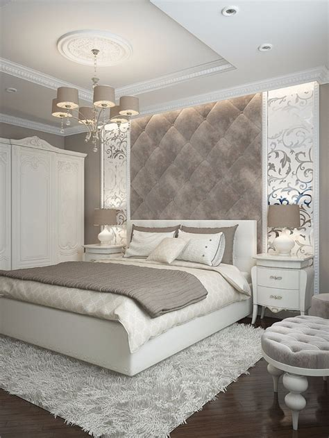 tufted headboard sumptuous bedroom inspiration in shades of silver master