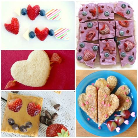 Healthy Valentine Snacks for School Days Party