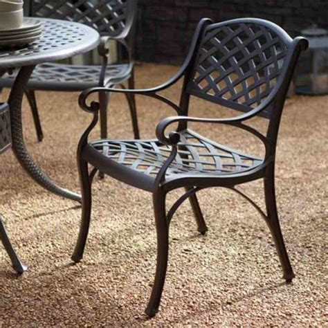 Black Wrought Iron Dining Chairs  Home Furniture Design