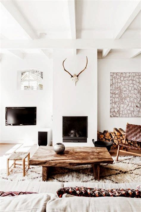 rustic chic home decor  interior design ideas rustic