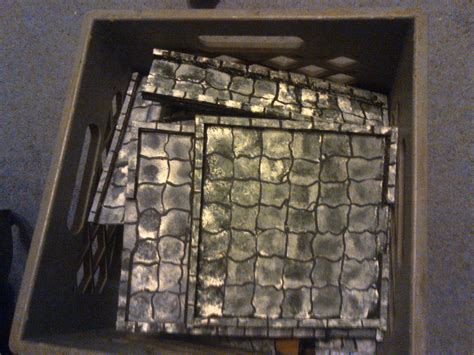 Making 3d Dungeon Tiles by Dungeon Tiles Rpg Knights