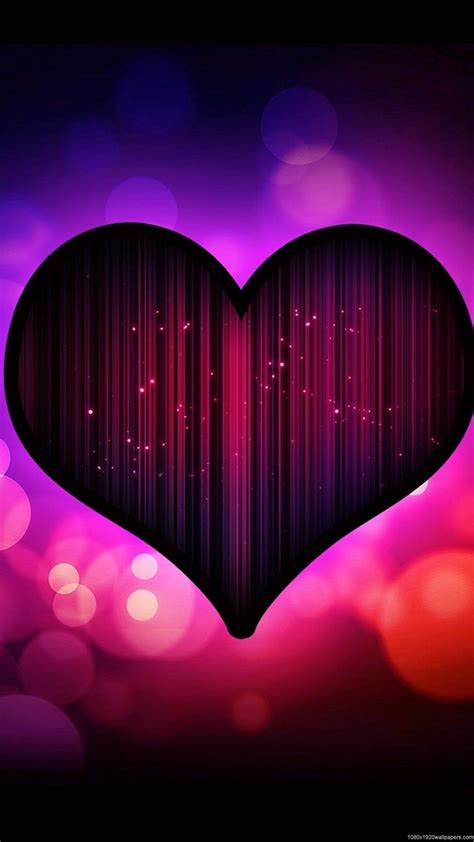 abstract cool circle heart wallpapers hd