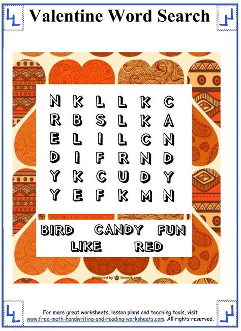 word search printable puzzles