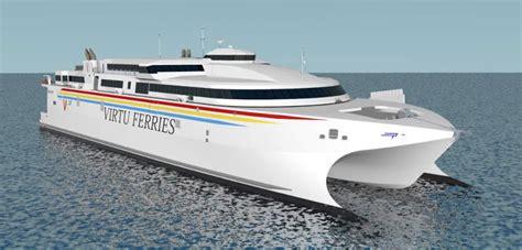 Largest Catamaran Ferry by Virtu Ferries High Speed Wave Piercing Catamaran Ship