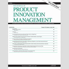A Critical Look At Technological Innovation Typology And