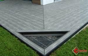 Terrasse En Lame Composite by Quel Type De Pose Pour Mes Lames De Terrasse Composites