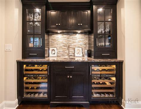 Custom Bar Cabinets In Madison, Nj  Kountry Kraft