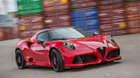 alfa romeo 4c 2017 spider coupe engine specs and interior