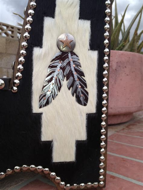 native american style  southwestern decor cowhide