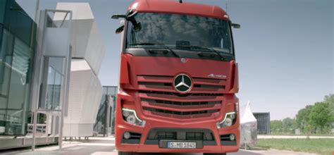 mercedes actros   truck video dpccars