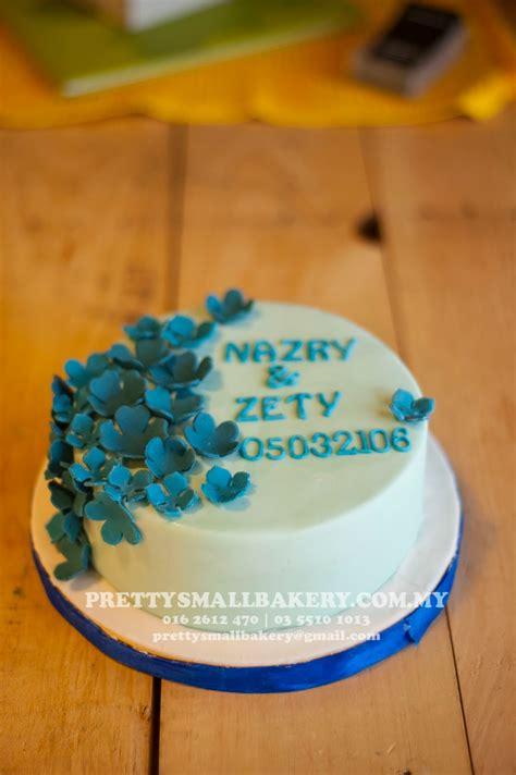 kek hantaran  simple prettysmallbakery
