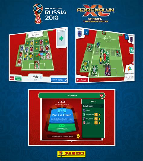 neopoly panini adrenalynxl fifa worldcup