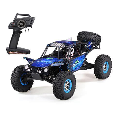 baja buggy rc car eu wltoys 10428 c2 1 10 2 4g 4wd electric rock crawler off