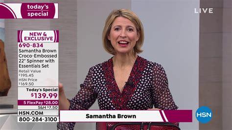Samantha Brown CrocoEmbossed 22
