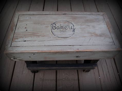 easy rustic step stool diy scavenger chic