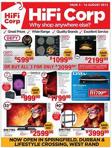HiFi Corp Specials Catalogue 05 Aug 2015 16 Aug 2015 Find Specials