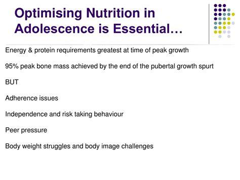 nutrition  body image  adolescents  cf