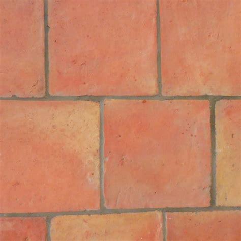 square natural terracotta tiles