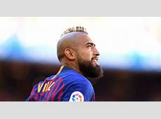Barcelona's Arturo Vidal has a bit of a pop at Real Madrid