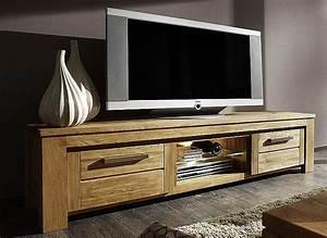 Tv Board Holz Massiv : lowboard aus wiederaufbereitetem holz ~ Bigdaddyawards.com Haus und Dekorationen