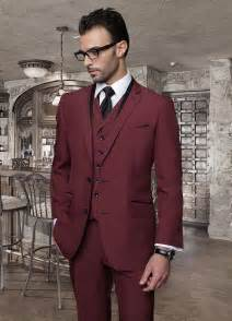 cheap mens suits for weddings 2015 italian custom made burgundy wedding suits cheap jacket tie vest mens tuxedos for