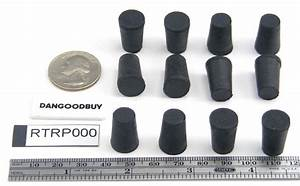 Flask Stopper Size Chart 24 Rubber Stoppers Laboratory Stoppers Size 000 Quot Corks