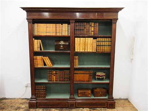 What Is A Bookcase by Georgian Style Mahogany Inlaid Open Bookcase 26178