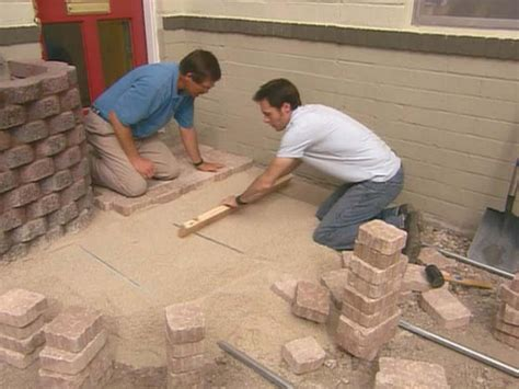 How To Install Concrete Pavers  Howtos Diy