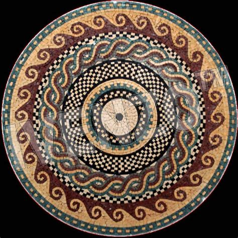 Mosaic Greekroman Pattern Mk064