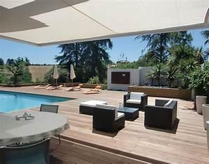 amenagement petit jardin avec terrasse et piscine With idee amenagement jardin rectangulaire 1 amenagement jardin et terrasse 23 idees fantastiques