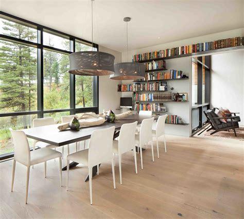 bar dans une cuisine moderne maison rustique à l architecture et agencement