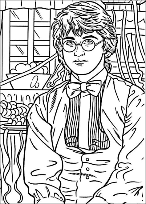 disegni da colorare di harry potter disegni harry potter da colorare 42